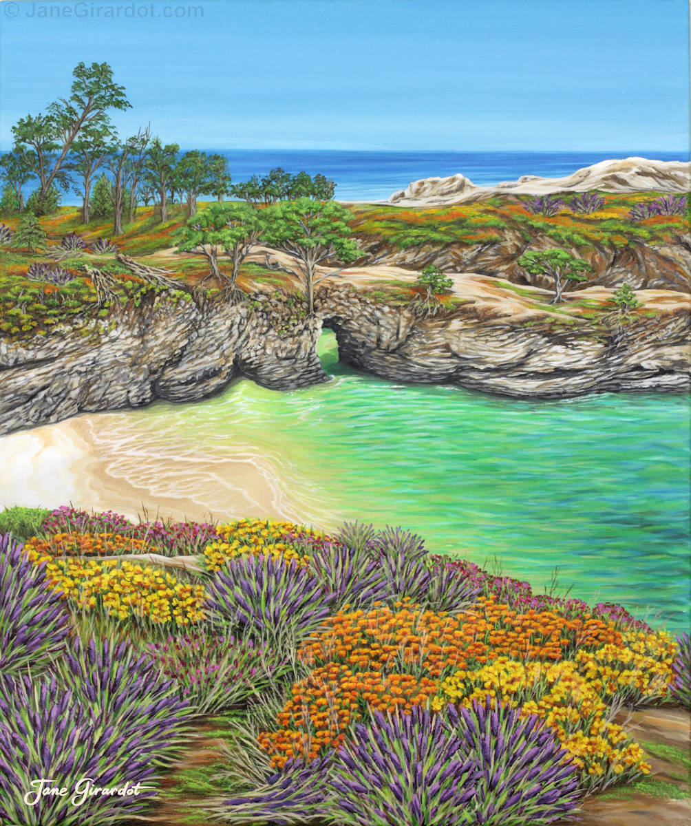 China Cove Paradise - Jane Girardot Art