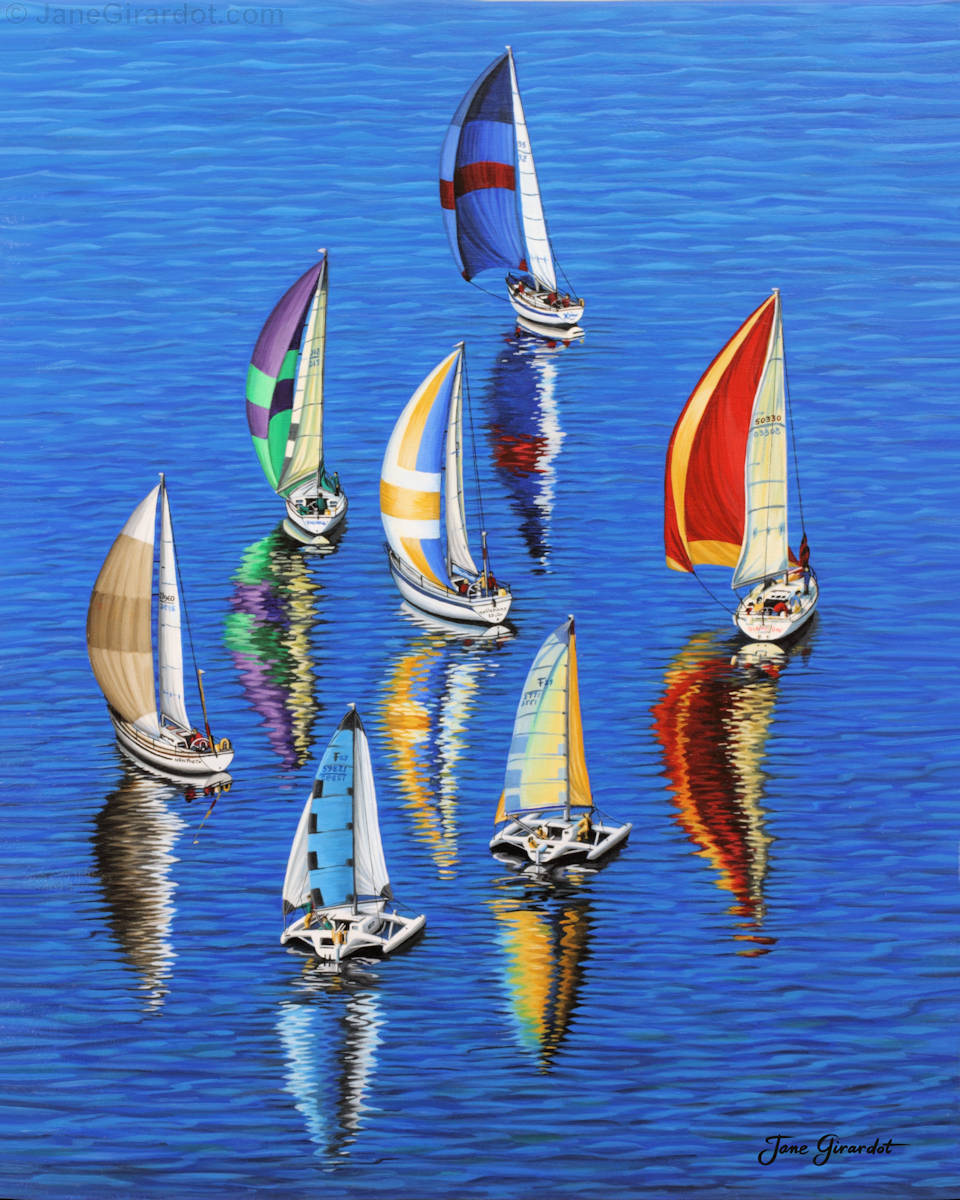 Morning Reflections - Jane Girardot Art