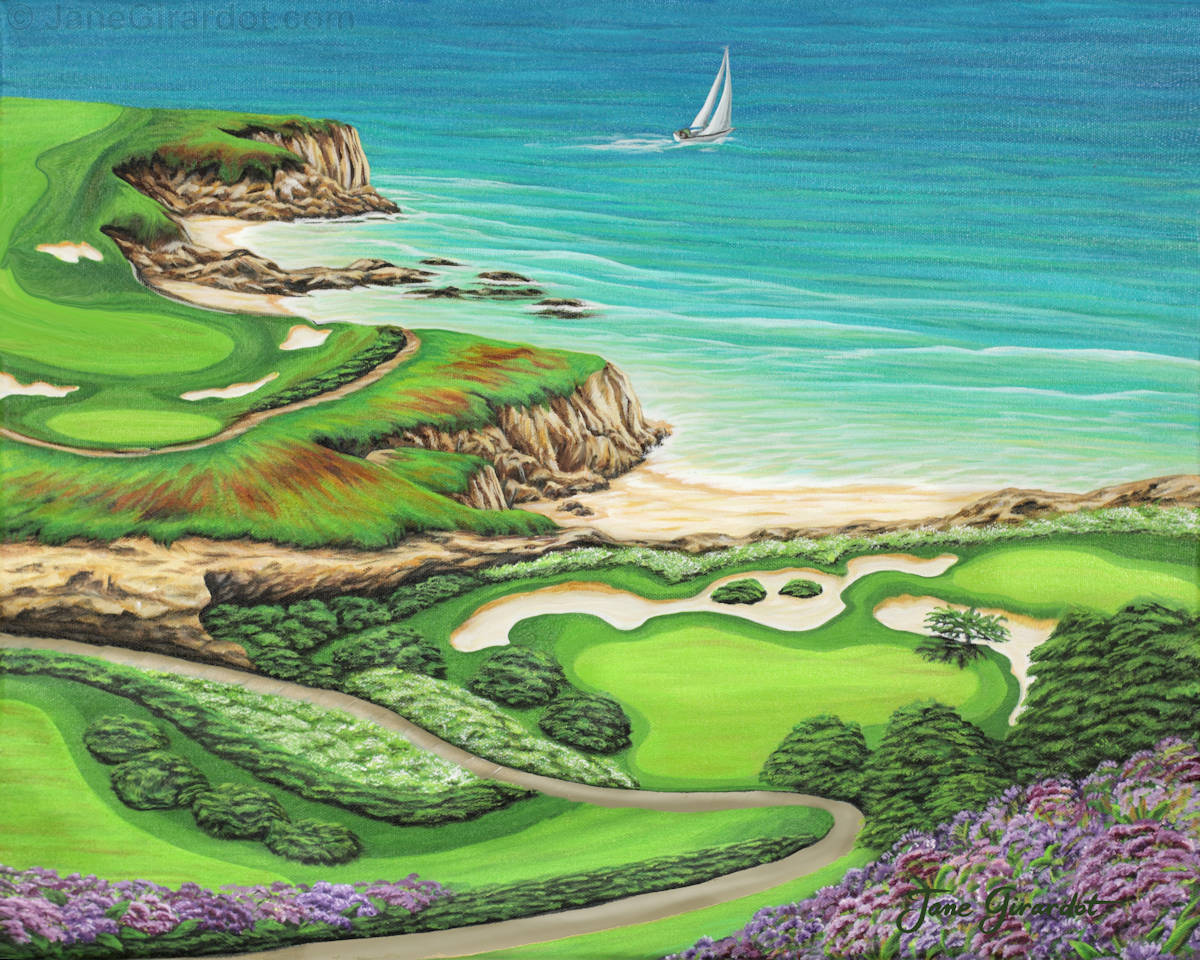 Newport Coast - Jane Girardot Art