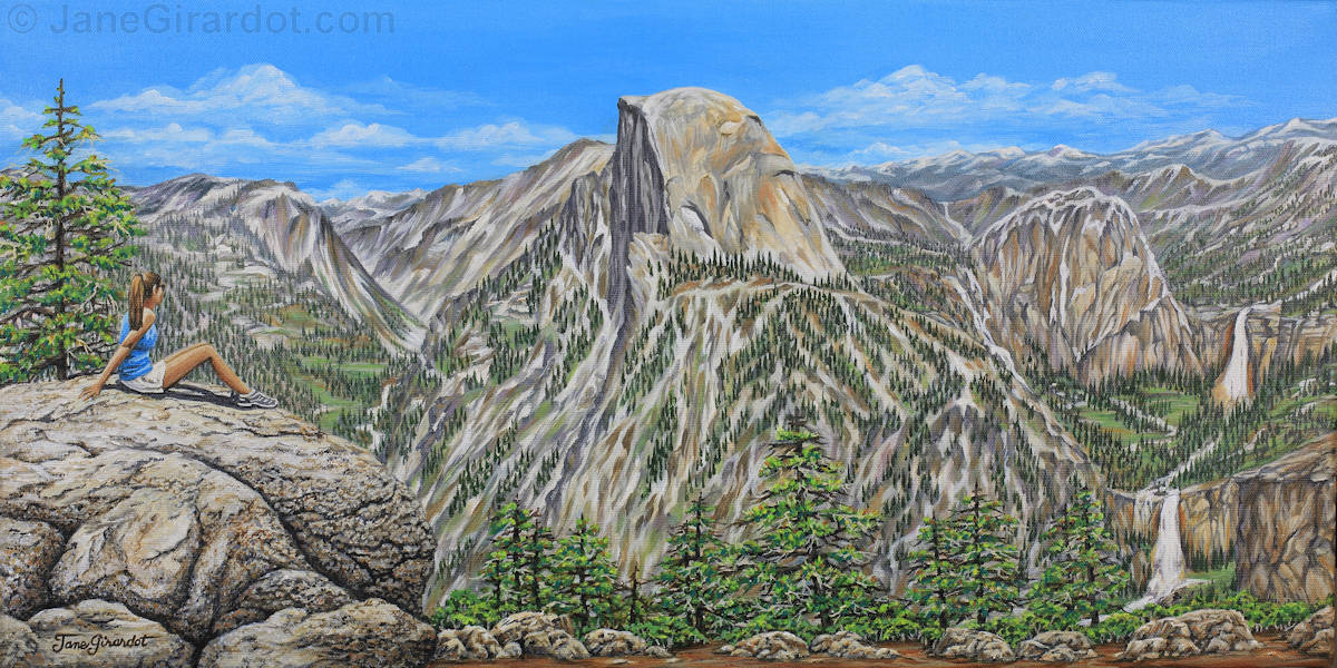 Springtime In Yosemite Valley - Jane Girardot Art