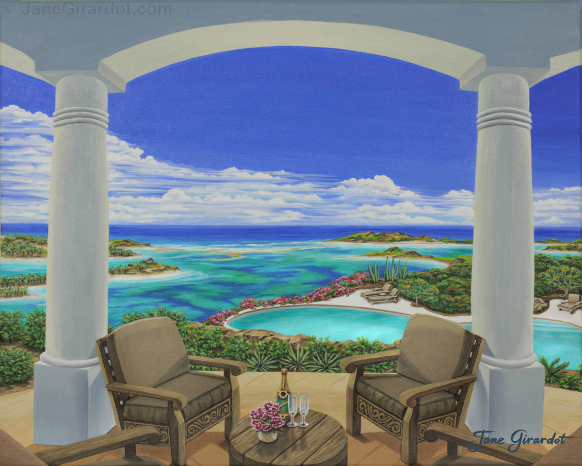 Vacation View - Jane Girardot Art