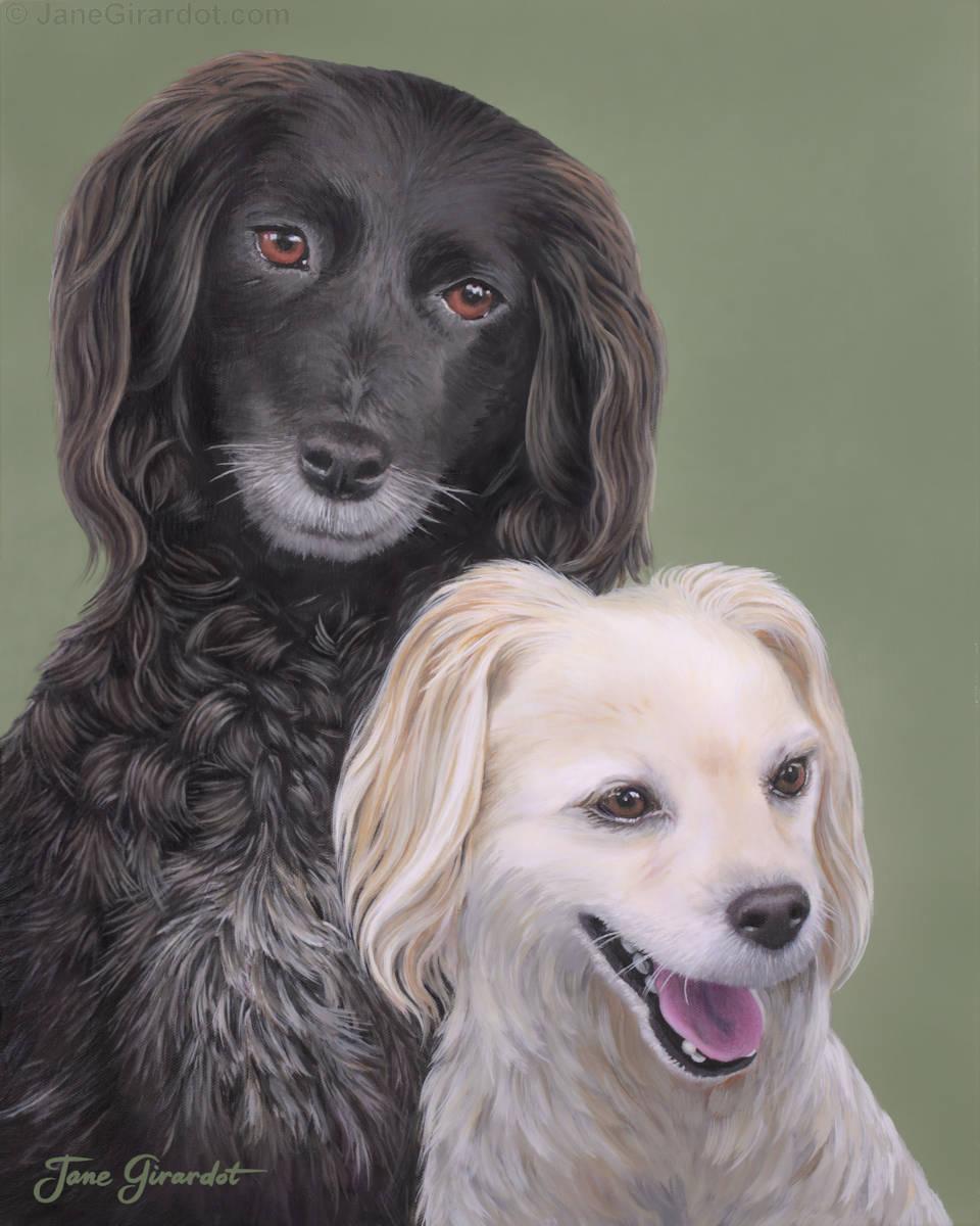 Brea & Randy - Jane Girardot Art