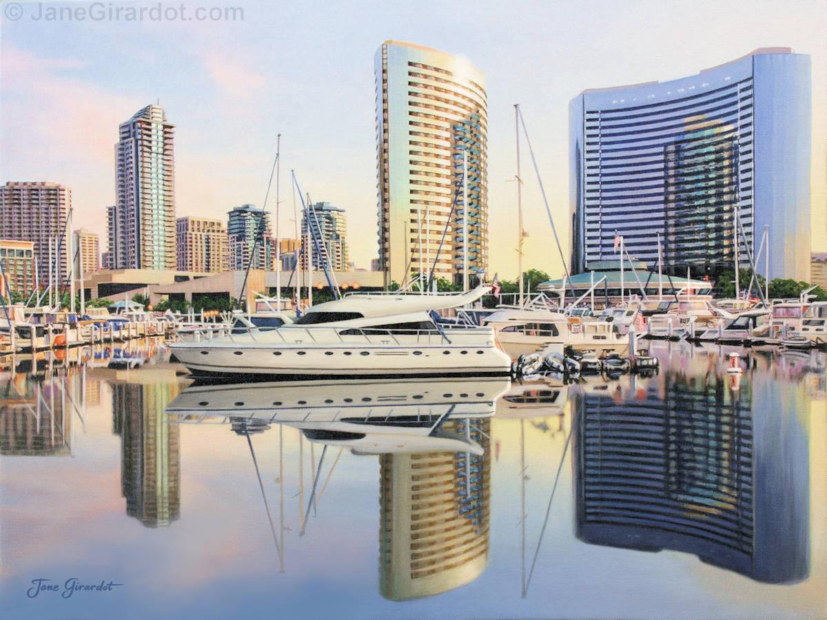 Calm Summer Morning - Jane Girardot Art