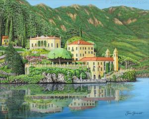 Lake Como Morning - Jane Girardot Art