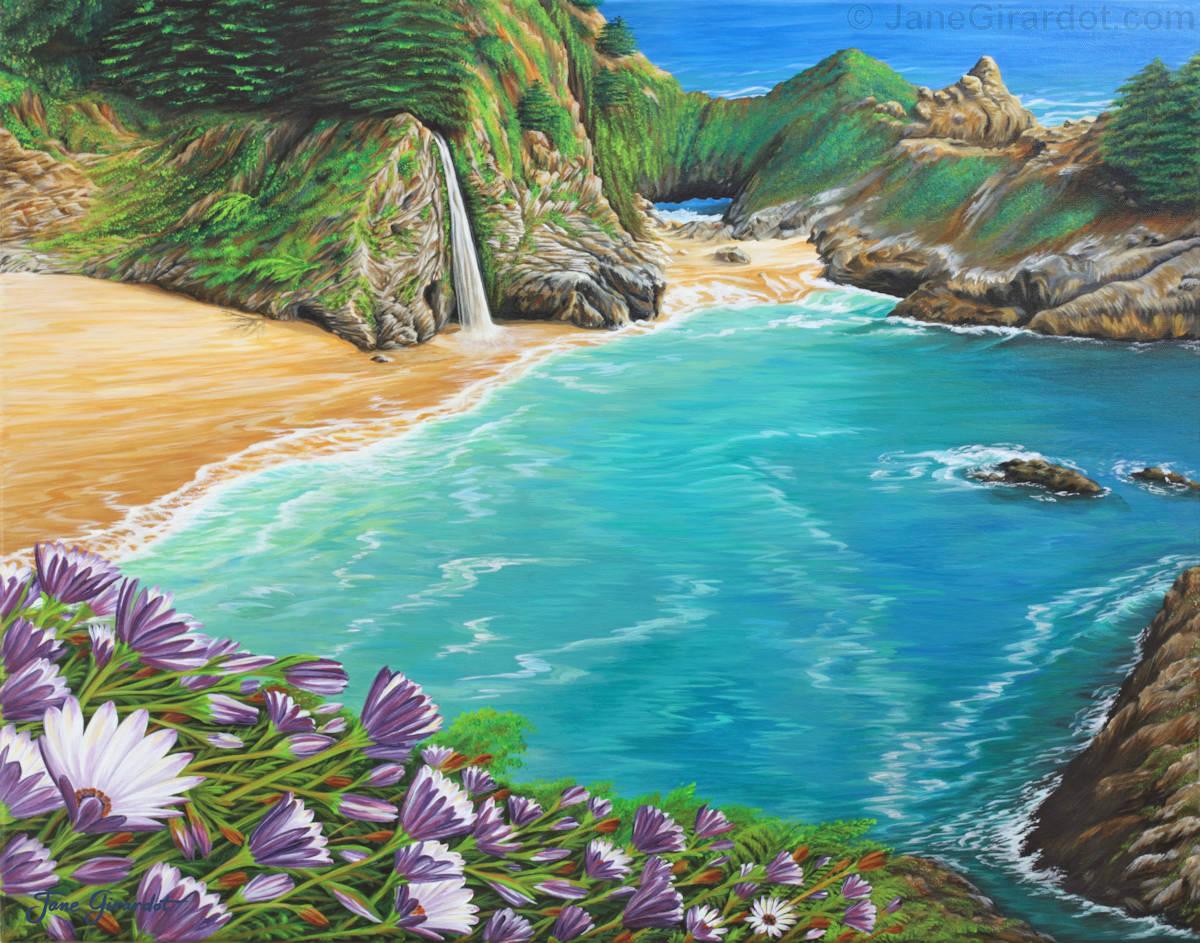 McWay Falls - Jane Girardot Art