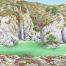 Rocky Cove - Jane Girardot Art