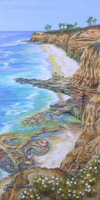 Low Tide Sunset Cliffs